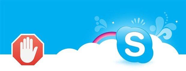 Skype Reklamlarını Kaldırma ve Engelleme Nasıl Yapılır 1