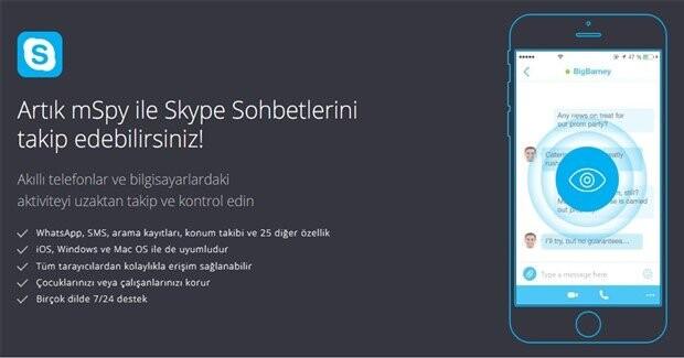 Başkasının Mesajlarını Nasıl Okurum ''WhatsApp'' ve ''Skype''