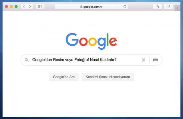 Google'dan Resim veya Fotoğraf Nasıl Kaldırılır?