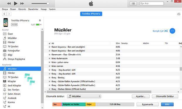 iPhone'a Müzik Yükleme Nasıl Yapılır?