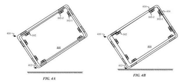 Apple'dan Telefonları Koruyacak Yeni Patent