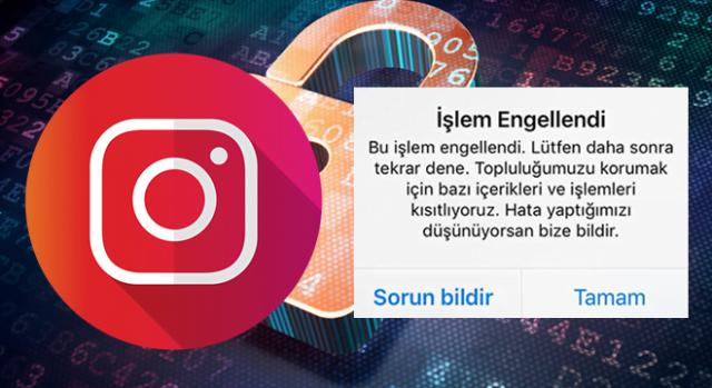 Instagram İşlem Engellendi Sorunu İçin Çözüm Yolları