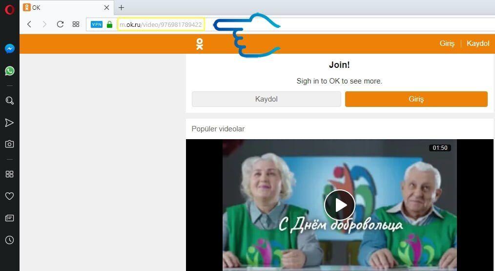 Ok.ru Üzerinden Video İndirme Nasıl Yapılır?