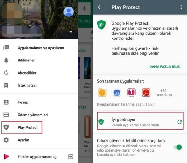 Android Telefonu Korumak için 7 Yöntem