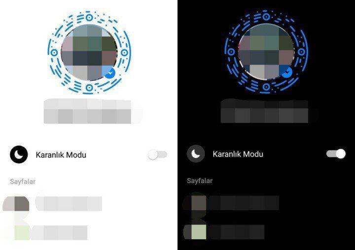 Facebook Messenger Karanlık Mod Nasıl Kullanılır?