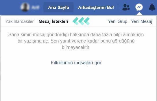 Facebook Messenger'da Mesaj İsteklerini Görüntüleme