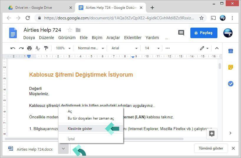 Program Kullanmadan PDF'yi Word'e Çevirme Nasıl Yapılır?