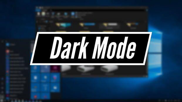 Windows 10'da Dark Mode Nasıl Açılır?