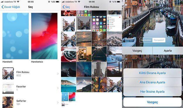 Yüksek Kaliteli iPhone Duvar Kağıtları