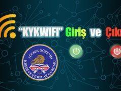 KYK Wi-Fi Ağına Giriş ve Çıkış Nasıl Yapılır?