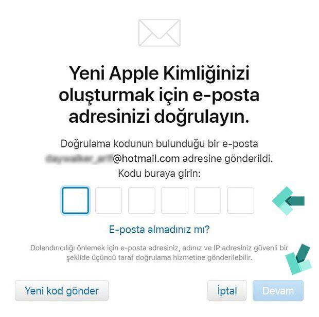 Apple Kimliği Nasıl Oluşturulur? (Mobil, PC)