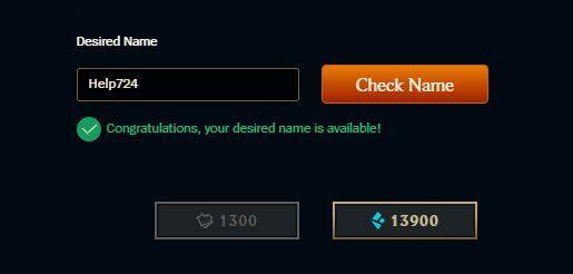 LoL'de İsim Değiştirme Nasıl Yapılır?