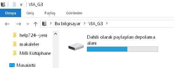 Telefondaki Fotoğrafları Bilgisayara Aktarma (Android)
