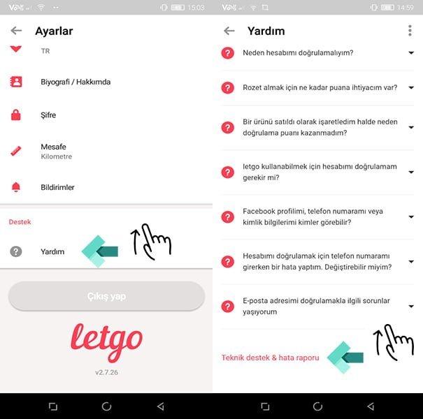 Letgo'da Hesap Silme Nasıl Yapılır?