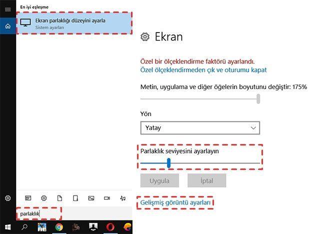 Windows 10'da Renk Ayarı Nasıl Yapılır?
