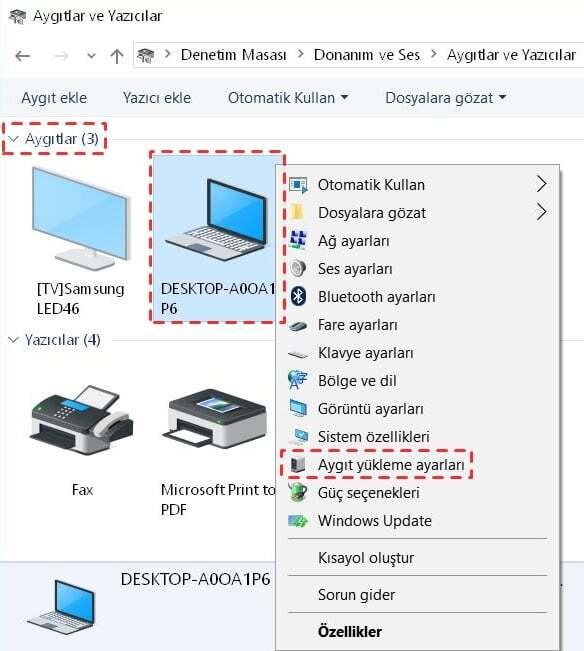 Windows 10'da Sürücü Güncelleştirmelerini Kapatma