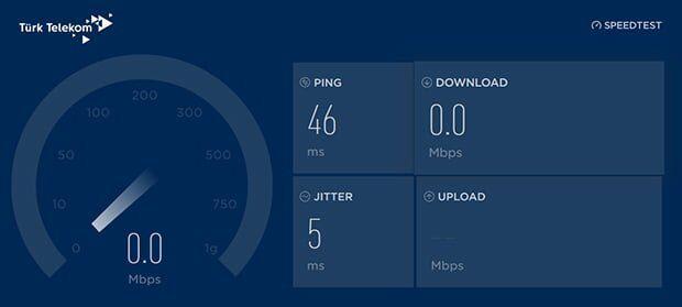 İnternet Hızım Çok Yavaş, Bağlanamıyorum!