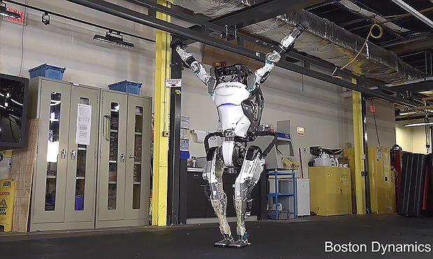 Boston Dynamics Atlas Robotu'nun Hareket Sistemi