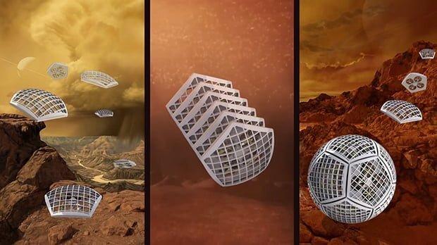 NASA'nın Şekil Değiştiren Robot Projesi Ortaya Çıktı