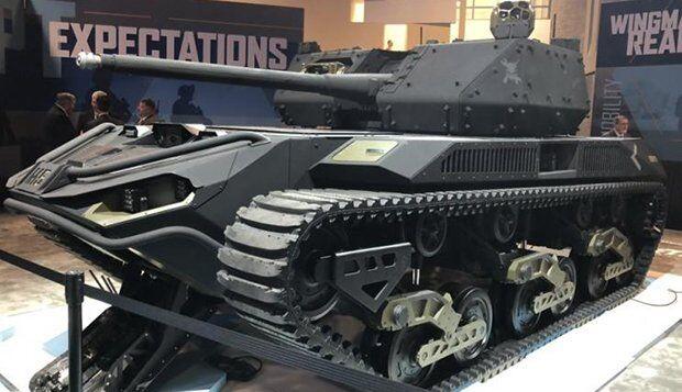 İnsansız Mini Tank Ripsaw M5 RCV!