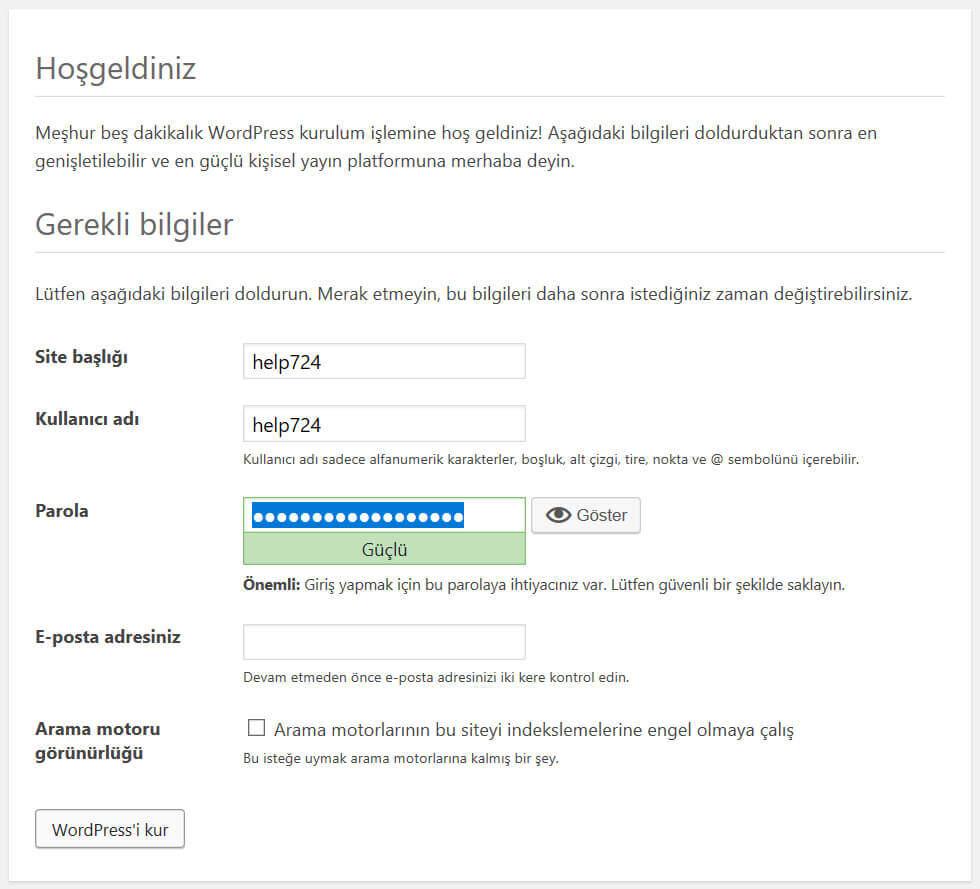 Adım Adım XAMPP İle Localhost WordPress Kurulumu