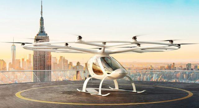 Dünyanın İlk Hava Taksisi Durağı VoloPort