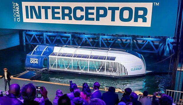 Interceptor ile Plastik Atıklar Okyanuslara Ulaşmadan Temizlenecek