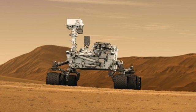 NASA, Curiosity Uzay Aracının Selfie Çekimini Yayınladı