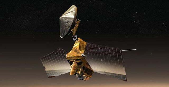 NASA, Mars Reconnaissance Orbiter ile Çekilmiş Görselleri Paylaştı