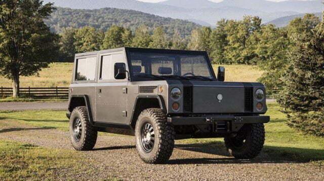 Tamamen Elektrikli Jeep Bollinger Motors B1!