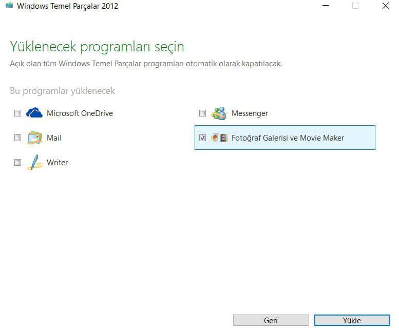 Windows Movie Maker Nasıl İndirilir ve Kurulur?