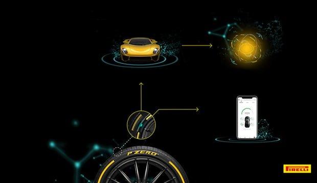 5G Destekli Akıllı Lastik Pirelli Cyber Tyre