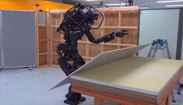 Japon İşçi Robotu HRP-5P