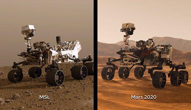 NASA, Mars 2020 Aracını Uzaya Gönderiyor