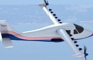 NASA'nın Elektrikli Uçağı Maxwell X-57 Tanıtıldı