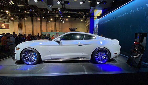 Tamamen Elektrikli Ford Mustang Lithium