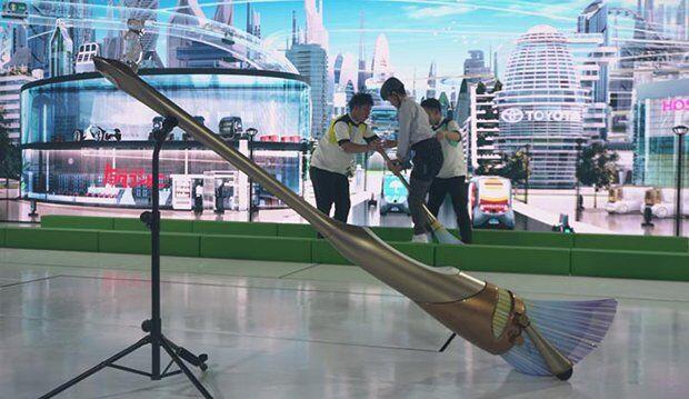 Yeni Nesil Ulaşım Aracı Toyota E-Broom