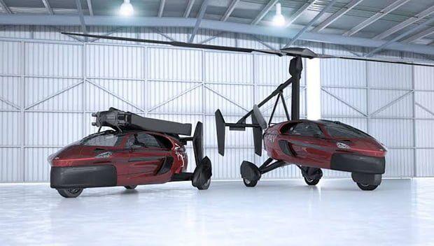 Uçan Araba PAL-V Pioneer ile Tanışın