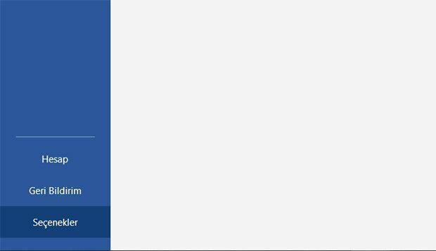 Word Başlangıç Ekranı Sayfası Nasıl Kaldırılır?