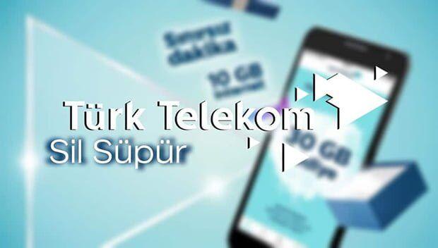 Türk Telekom Sil Süpür Nasıl Kullanılır? Hediyeleri Neler?