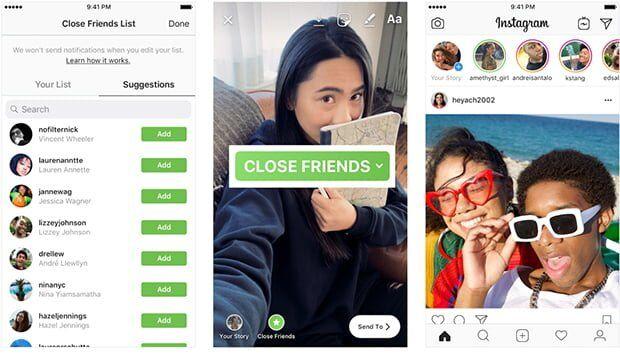 Instagram Yakın Arkadaşlar Nedir? Nasıl Kullanılır?