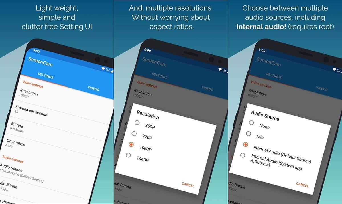 En iyi Ekran Kaydetme Uygulamaları (Android)