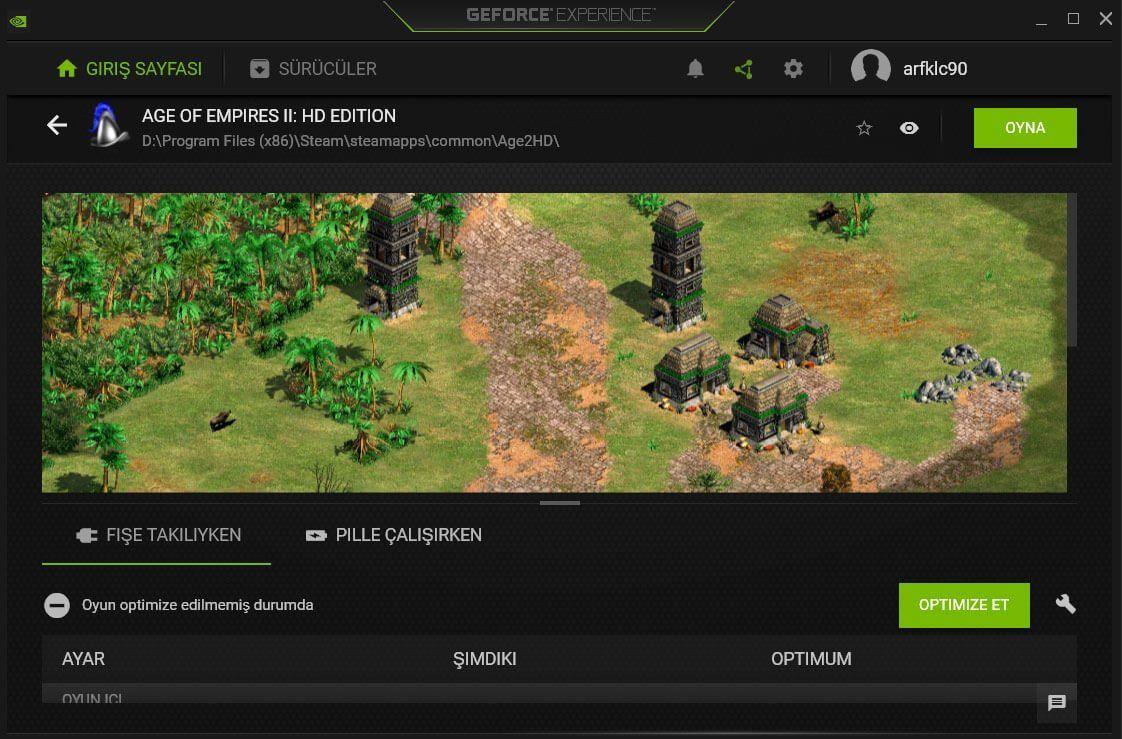 Oyunlar Harici Nvidia Ekran Kartıyla Çalışmıyor (Açılmıyor)