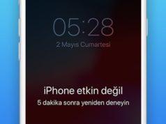 iPhone Etkin Değil Hatası Nasıl Çözülür?