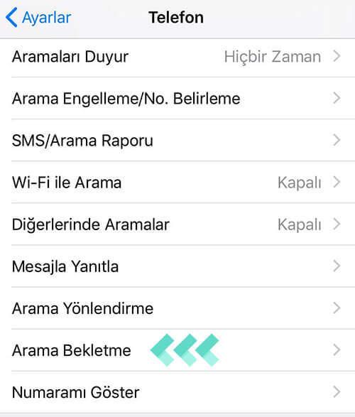 Telefon Meşgulken Arayanı Görme (Android - iOS)