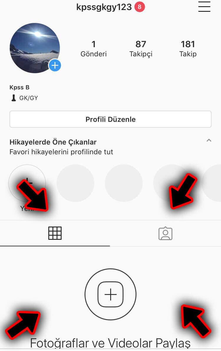 Instagram Fotoğraf Gizleme Nasıl Yapılır? (Resimli Anlatım)