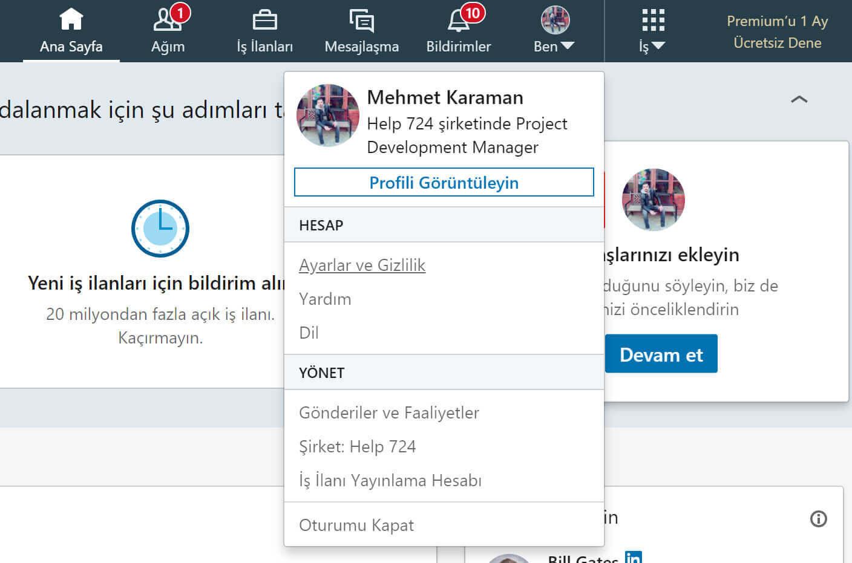 LinkedIn Hesap Silme Adımları (Rehber)
