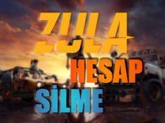 Zula Hesap Silme