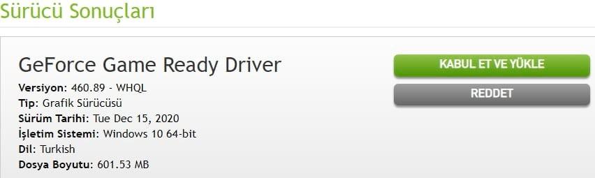 Sürücüleri İndir