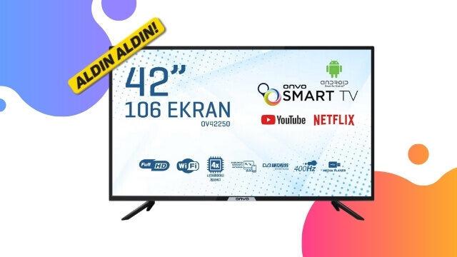 21 Ocakta A101 de Satılacak Televizyon ONVO 42 OV42250 Özellikleri